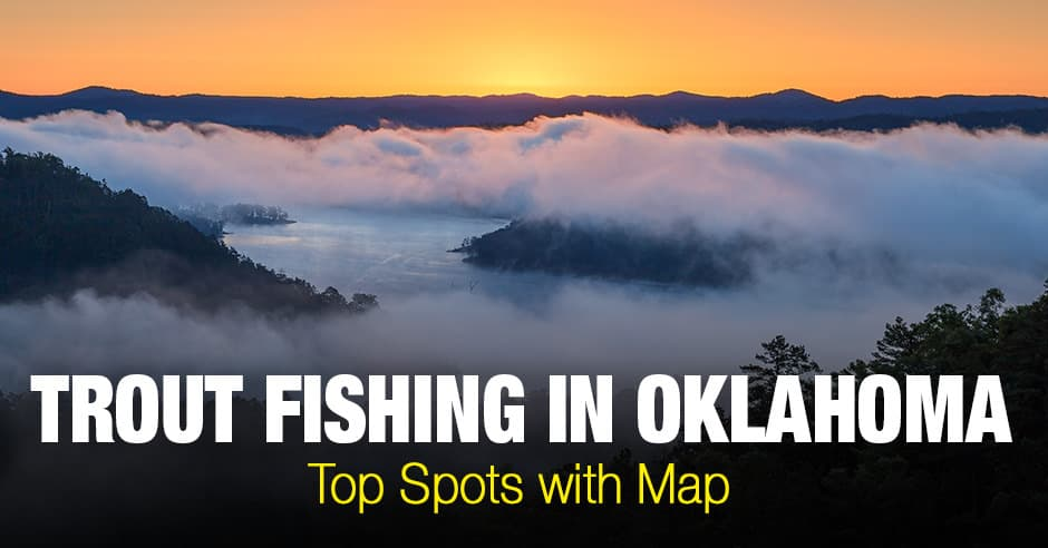 Trout Fishing in  Oklahoma (CO) - Top Spots with Map