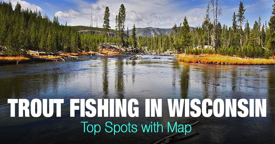 Trout Fishing in Wisconsin (WI) - Top Spots with Map