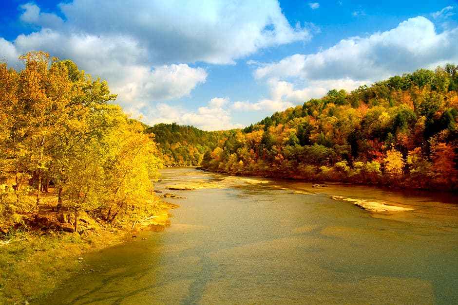 Trout fishing in Cumberland river (KY)